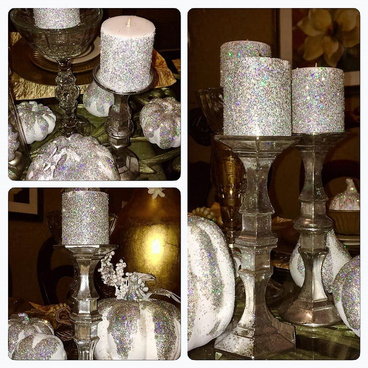 Dollar Tree DIY Faux Mercury Glass Candlestick Holders (Z Gallerie Inspi...
