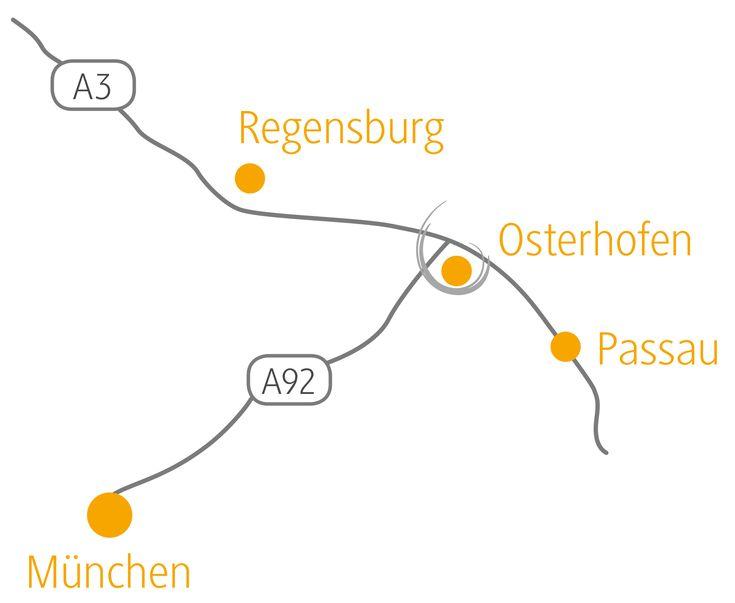 Google Map of Plattlinger Str. 29 94486 Osterhofen