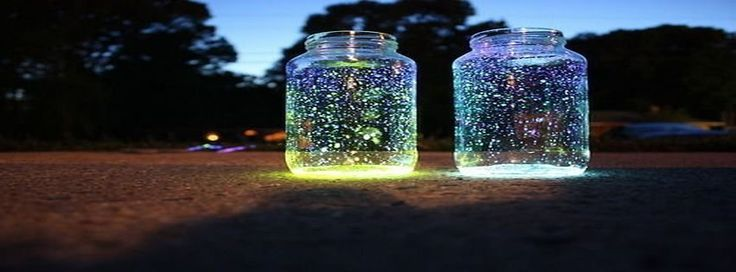 Teal LED Firefly Jar | Temptation Gifts |Fireflies In A Jar Cover Photo