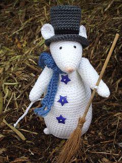 Mr Snow Mouse      * Haakjuffie* 's blog : haakwerkjes