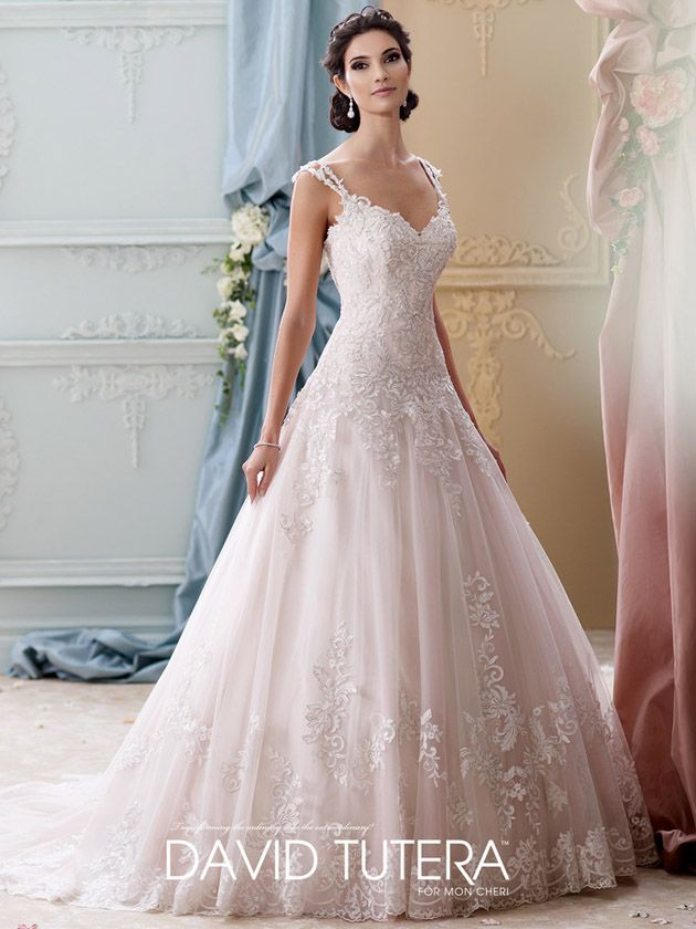 David Tutera (Mon Cheri) Brautkleider 2016 | miss solution - Arwen by DAVID TUTERA