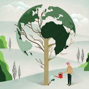 Global Vision Awards 2011 - Illustration by Gracia Lam