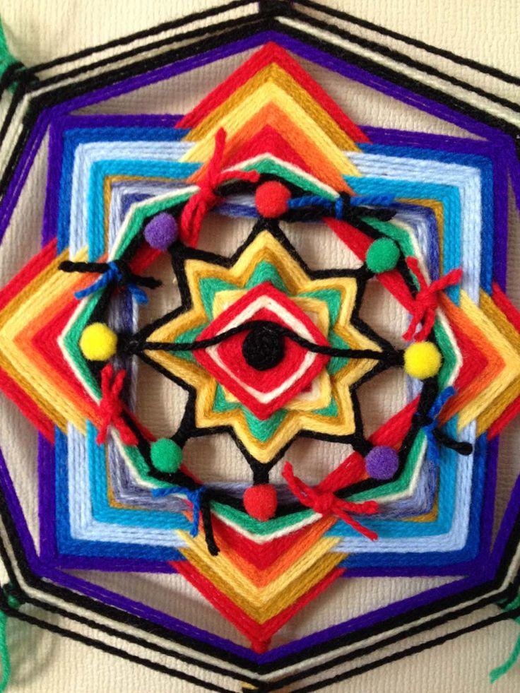 Como generar efecto de degradación (Mandalas tejidos)