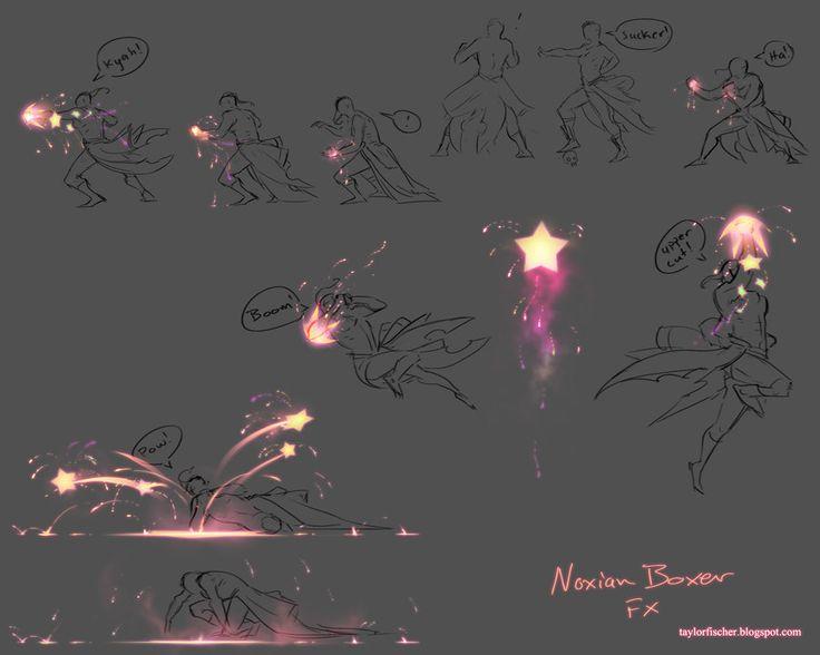 Noxian Boxer FX sheet and animations by Beastysakura.deviantart.com on @deviantART