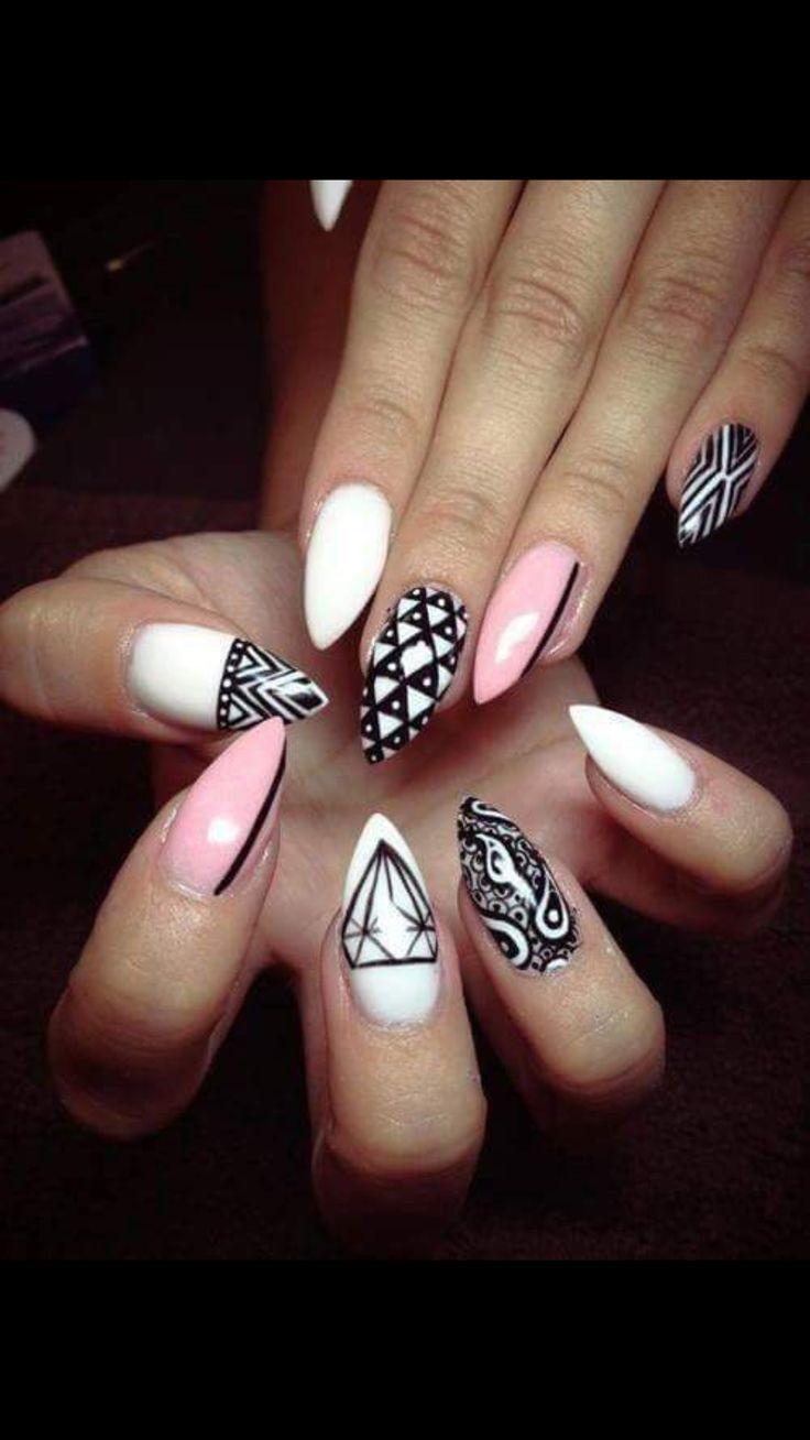 233 best Paznokcie images on Pinterest   Nail scissors, Nail design ...