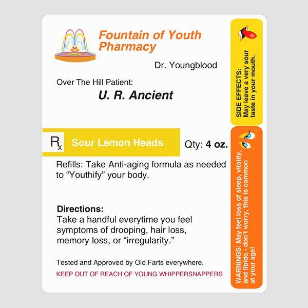 prescription for aging