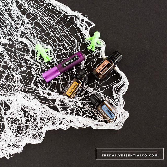 Feeling like a ZOMBIE? We've got the cure! #halloweenoils
