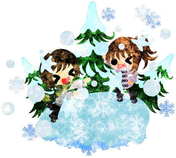 フリーのイラスト素材冬と女の子の可愛いイラスト -楽しい雪合戦-  Free Illustration The cute illustration of winter and girls -Pleasant snowball fight-   http://ift.tt/2fMugMh