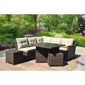 Patio Sectional Sofa Set
