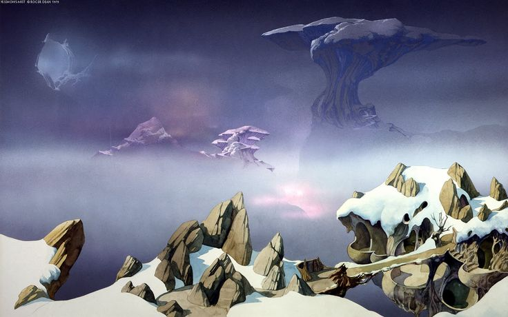 roger dean art pack of amazing surreal wallpapers HQ