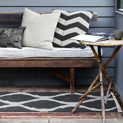 75x2.75m Tahla Runner/Rug Charcoal from Aura Home