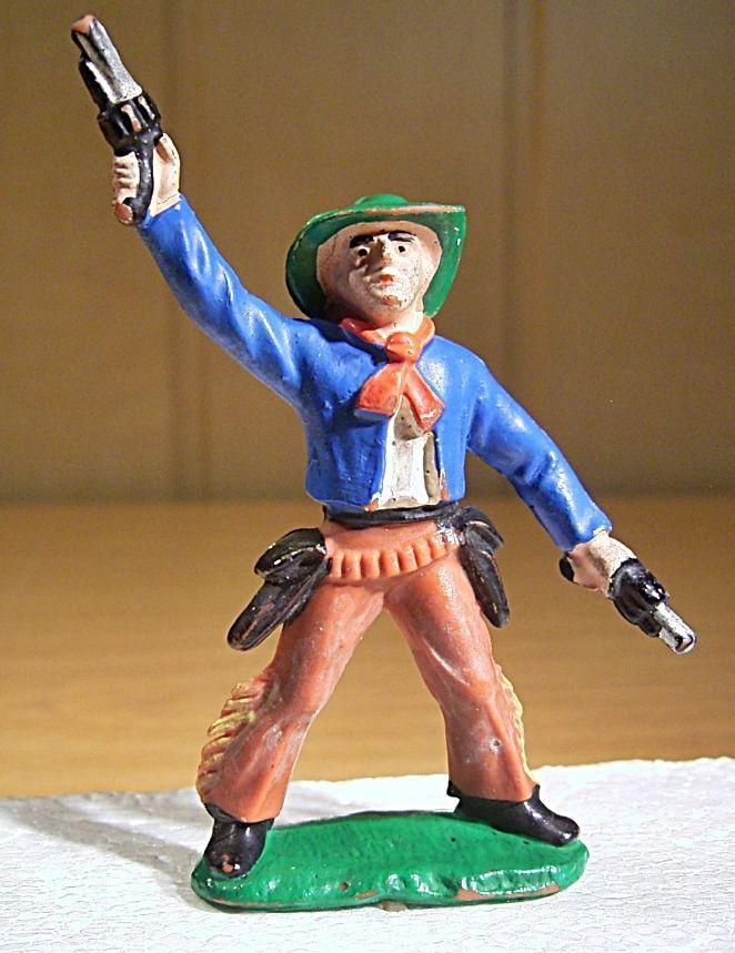 """DDR Cowboy """"Billy the Kid"""" 037 B1 bl-we-br,Emil Bayer KG,1965-1990 ..."""