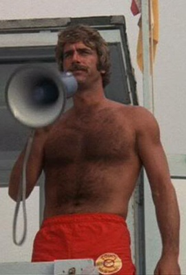 "Sam Elliot in ""Lifeguard"" 1976. Back before men waxed off all their chest hair"