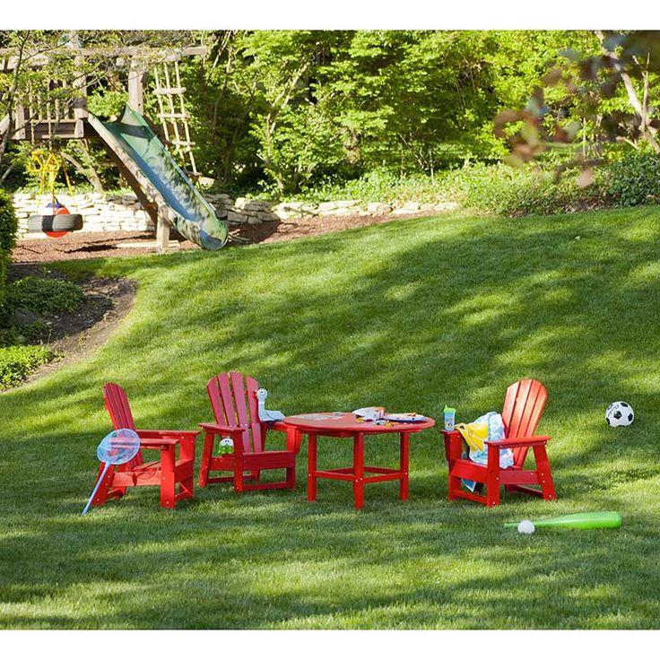 South Beach Kids Adirondack Chair