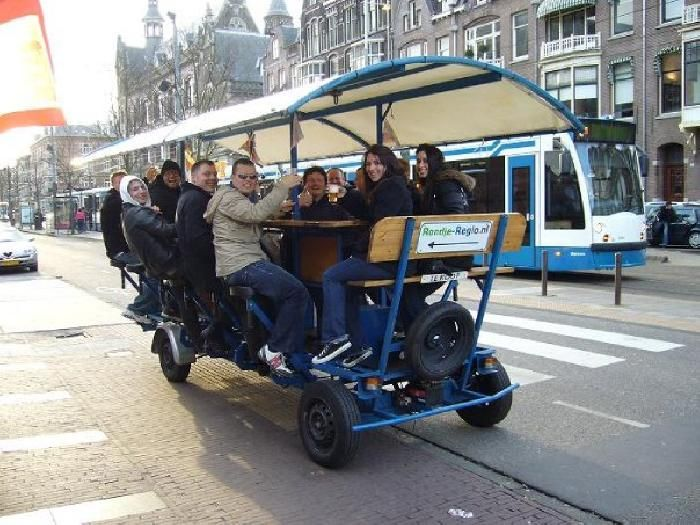 How about a party along the streets of #Amsterdam meeting new people in every corner? The best stag party ;)