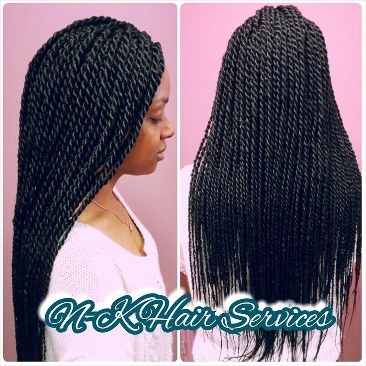 Long Medium Senegalese Twists   Senegalese Twists ...