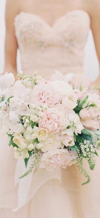 Blush bridal bouquet                                                                                                                                                                                 More