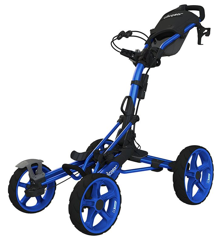 Hit the golf couorse in style with this luxury model 8 golf push cart by Clicgear!
