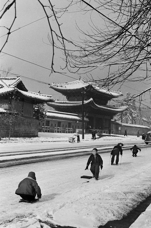 © Han Youngsoo -Changgyeong Palace, Seoul, Korea 1956
