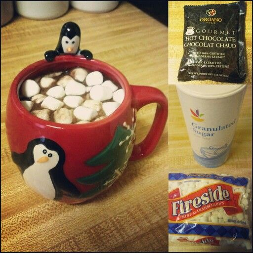 #OrganoGoldGourmetHotChocolate plus a Little Sugar plus Marshmallows equals the perfect cup of Hot Cocoa in a Christmas Cup!! #organogold #itscoffee #healthycoffee #ganoderma #coffeethatpays #futurediamond #dreamchaser www.nikkilovesredtea.organogold.com