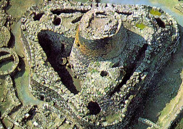 Nuraghe Santu Antine in Sardinia