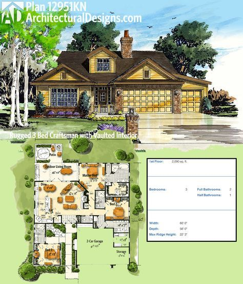 Plan 14632rk Rugged Craftsman With Room Over Garage: 25+ Best Ideas About Home Layout Plans On Pinterest