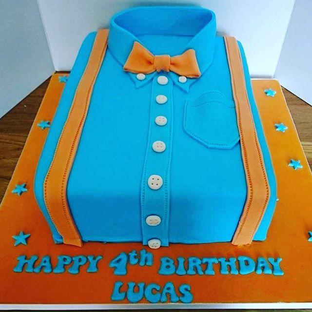 blippi shirt cake