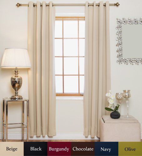1000+ images about Thermal Blackout Curtains on Pinterest | LUSH ...