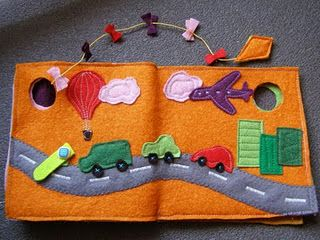 I like this road/city scene for a quiet book page