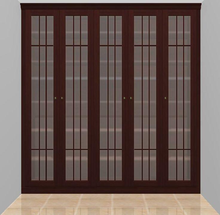 Armario de estilo clasico con puertas abatibles y - Armarios con estilo ...
