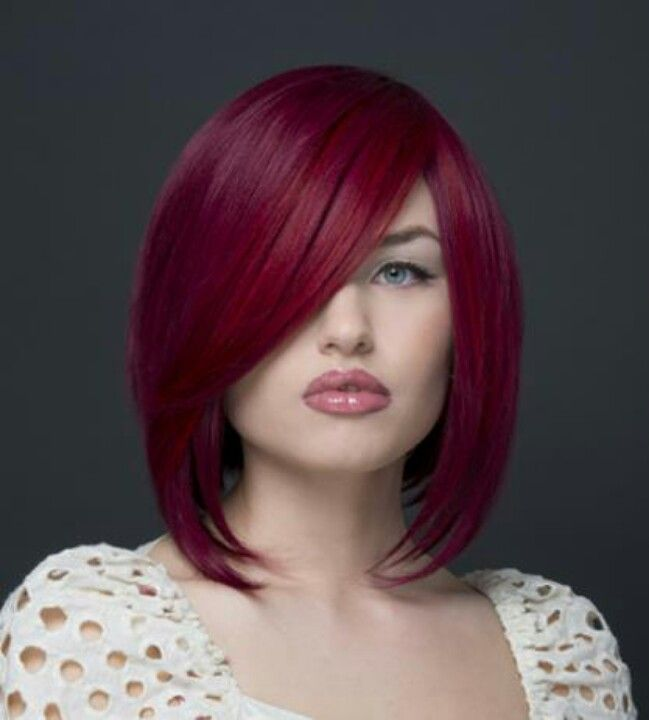 magenta red hair loving this hair colors styles pinterest. Black Bedroom Furniture Sets. Home Design Ideas
