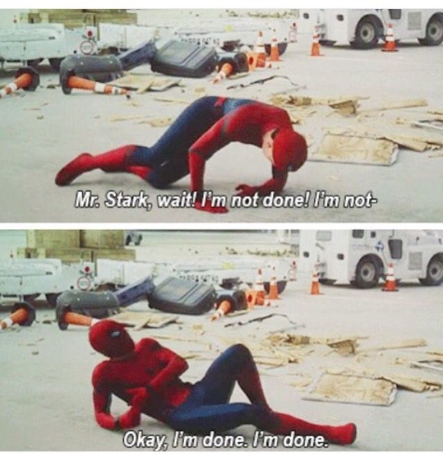 Tom Holland was fantastic in Civil War, much to my surprise. P.S. I didn't know who was playing Spiderman until I saw the actual movie. It could've been Justin Bieber for all I knew.