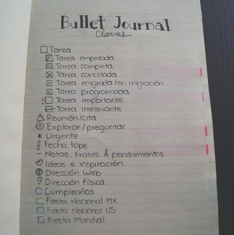 ¿Qué es un Bullet Journal? Bullet Journal School, Bullet Journal Kpop, Bullet Journal Titles, Bullet Journal Tracker, Bullet Journal How To Start A, Bullet Journal Inspiration, Journal Español, Journal Layout, Journal Ideas