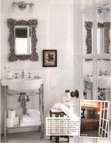 country living magazine interior white | ... home and of course gallons and gallons of white and off white paint