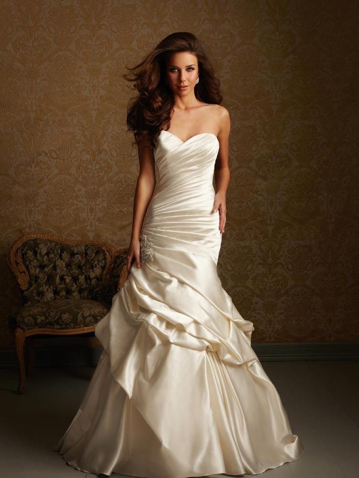 Wedding dresses: cream colored wedding dresses