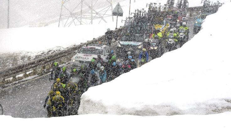 Giro de Italia 2014. Etapa 16 #giroitalia2014 #cycling #sport #nairoquintana #magliarosa