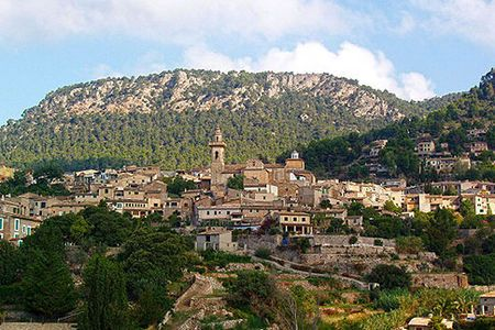 Valldemossa, Mallorca, Spain This hillside village is one of the prettiest on the Spanish island of Mallorca. Admire the narrow streets, stone houses and beautiful window flowerbeds - and check out the 13th century monastery.