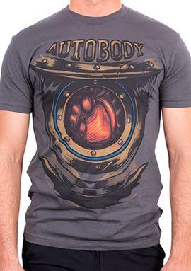Handyman Heart T-Shirt (Men's) via the Irrational Games Store.