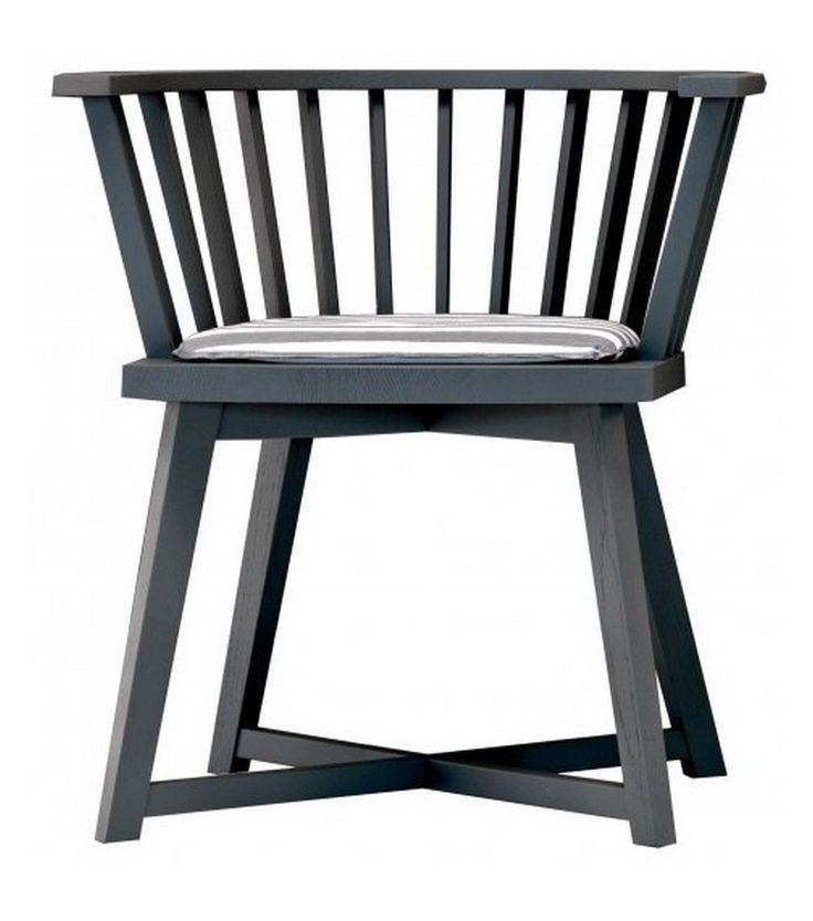 Gray 24 Small Armchair With Cushion Gervasoni