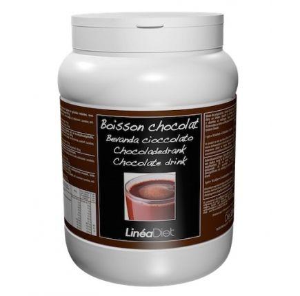 Boisson Chocolat Linéadiet 400G  Boisson chocolat chaud hyperprotéinée en pot économique de 400g. (minceurmoinscher.com)  Pot de 400 g = 16 sachets = Seulement 1,18€ le repas hyperprotéiné !  Fondez sans culpabilité pour ce chocolat chaud hyperprotéiné, gourmand et onctueux à souhait. Rapide à préparer, cette boisson accompagnera à merveille  vos biscuits ou barres protéinées.  Son format économique en fait le compagnon idéal de 16 petits-déjeuners!