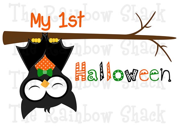 1st Halloween TShirt Halloween Personalized Boy by TheRainbowShack, $16.00