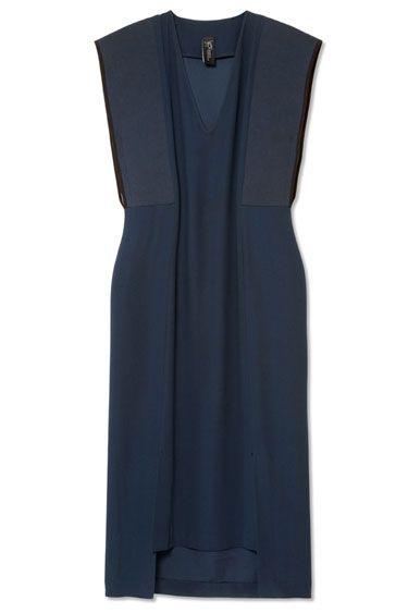 THE BAZAAR: Navy Reserve - Zero + Maria Cornejo dress,  ShopBAZAAR.com.