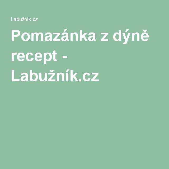 Pomazánka z dýně recept - Labužník.cz