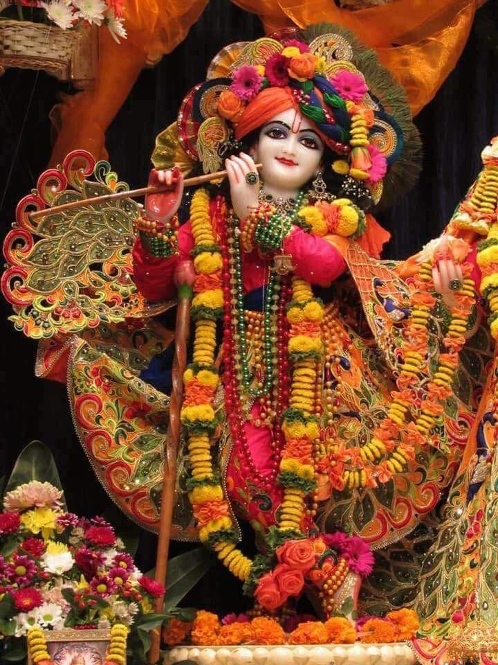 pic of lord krishna and radha