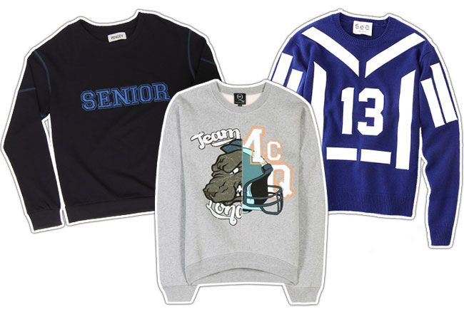 These Attention-Getting Sweatshirts Say the Sporty Trend Is Here to Stay