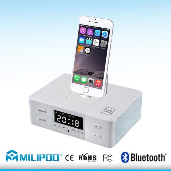 Fm Radio Alarm Clock Bluetooth Speaker Universal Multi Charging Docking Station For Iphone And Samsung All Smartphones Photo, Detailed about Fm Radio Alarm Clock Bluetooth Speaker Universal Multi Charging Docking Station For Iphone And Samsung All Smartphones Picture on Alibaba.com.