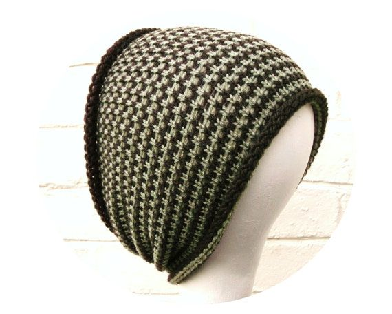 Tube hat dreadlocks headband wrap brown olive hair by missbelluk, £9.00