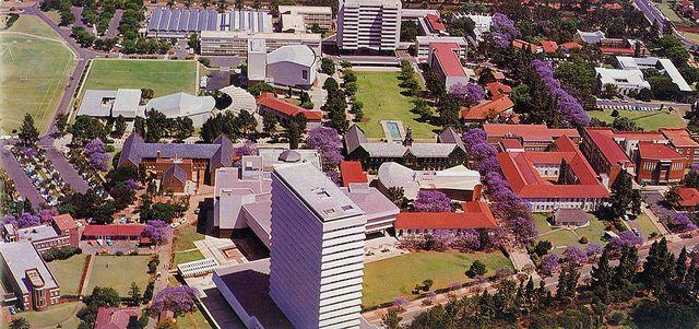 University of Pretoria use to look so so so different.