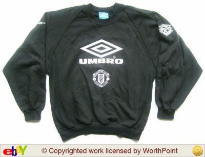 1992/3 Man Utd Umbro sweatshirt