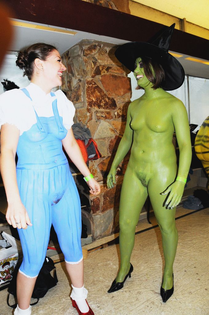And Nerdy body paint nude think, that